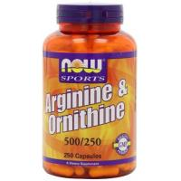 Wholesale NOW Foods L-arginine/ornithine, 250 Capsules from china suppliers