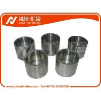 China Tungsten carbide Abrasion Resistant Spare Parts bushing with fine grinding on sale