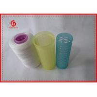 Wholesale 40s / 2 Raw White Ring Spun Polyester Yarn , Sewing Machine 100 Polyester Yarn from china suppliers