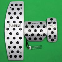 Wholesale Aluminum Foot Pedals for Land Rover LR3 LR4 Range Rover Sport Discovery 3 4 AT from china suppliers