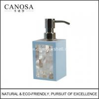 Star Hotel Resin Soap Pump with River Shell