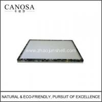 Wholesale Black Lip Shell Vanity Trays for Guestroom from china suppliers