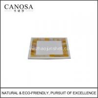 Wholesale Handmade Golden Mother of Pearl Soap Dishes from china suppliers