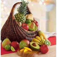Wholesale Fresh Fruit Gift Basket Deluxe NO.19 delivery basket to china from china suppliers