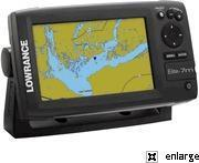 Wholesale Lowrance Elite-7M Chartplotter with Gold Charts from china suppliers