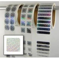 Wholesale tamper proof security labels Water Proof Security Laser Label from china suppliers