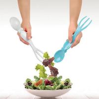 Buy cheap Plastic fork and spoon for squid and salad from wholesalers