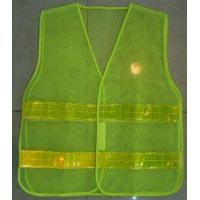 Wholesale Green Reflector Hi Vis Safety Mesh Vest Harness Incident Command Vests from china suppliers