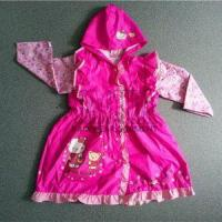 Buy cheap Popular PVC Waterproof Rain Jackets For Little Girls from wholesalers