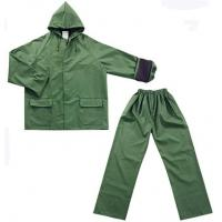 Buy cheap Rainwear Army Green Water-Proof Motorcycle Rainsuit For Adult from wholesalers