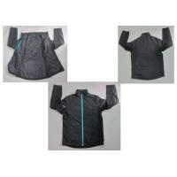 Buy cheap Black Lined Waterproof Breathable Winter Mens Softshell Jacket from wholesalers