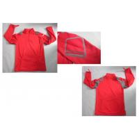 Buy cheap Mens Red Lightweight Fleece Waterproof Breathable Softshell Jacket from wholesalers