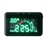 China LED Car HUD Head Up Display With OBD2 Speeding Warn System on sale