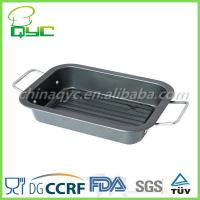 China non stick oven tray Non-Stick Carbon Steel Rectangular Oven Tray on sale