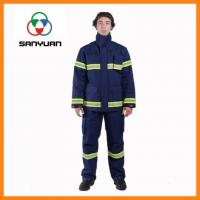 Buy cheap Aramid Fiber Anti-shrinkage Fire Fighting Suit from wholesalers
