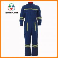 Buy cheap Chemical Industry Oil Resistant and Waterproof Clothing Cotton Flame Retardant Safety Clothing from wholesalers