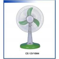 China Electrical fan CE-12V12M4 - 12inch 12v 13w rechargeable electric fan on sale