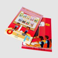 China Softcover Book Experienced Book Printing Factory Create A Book Online on sale