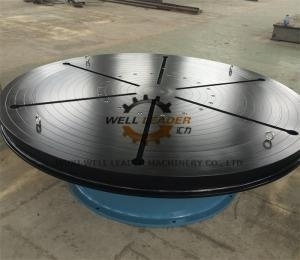 China Heavy Duty Welding Turn Table Infinitely Variable Rotation Speeds For Automatic Welding