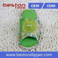 Buy cheap 2015 Good Quality Elegant Colorful Beautiful Warm Winter Plush Indoor Feather Woman Slipper from wholesalers