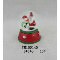 Wholesale Santa & Snowman Polyresin 45mm Christmas Snowglobe from china suppliers