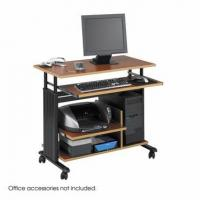 Desks & Tables Safco 1927CY Muv Mini Tower Adjustable Height Workstation for sale