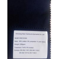 Wholesale CVC Cotton/polyester Flame Retardant Fabric from china suppliers