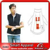 Wholesale Apparel Fashion Waistcoat For Men Design with electric heating system heated clothing warm OUBOHK from china suppliers