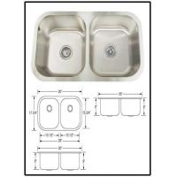 Quality Perfec stoone drop in stainless steel sink prices for sale