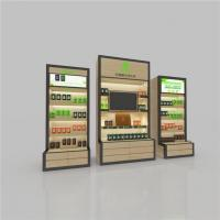 Wholesale Health Products Wooden Metal Luminous Display Cabinet with Lightbox Poster,furniture Shelves from china suppliers