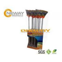 Wholesale Promotion Broom Cardboard Display Stands Pantone And CMYK Color from china suppliers