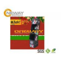 Wholesale Christmas Tree Point Cardboard Display Stands For Tabletop T-Shirt from china suppliers