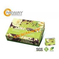 Wholesale Folding Cardboard Floor Display Stands / Cosmetic Packaging Box from china suppliers