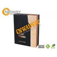 Wholesale Natural Color Double Side Printing Promotional Wooden Wine Boxes Wholesale from china suppliers