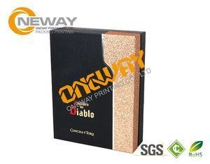 China Natural Color Double Side Printing Promotional Wooden Wine Boxes Wholesale