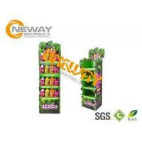 Buy cheap Energy Drinks Free Standing Cardboard Displays / Foldable Display Stand from wholesalers