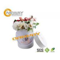 Buy cheap Professional Round Flower Box / Retail Pop Displays 420 X 200 X 330mm from wholesalers