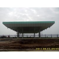 Wholesale Pipe Truss Aluminum roof structure space truss structure for toll station from china suppliers