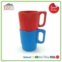 Buy cheap Wholesale Plastic Red Stacking Coffee Mugs With Rack from wholesalers