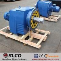 China R series helical geared motor for Road machine on sale