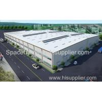 Wholesale Cost saving light steel structure prefab factory workshop building Admin Edit from china suppliers