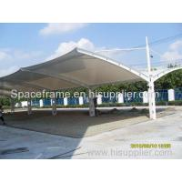 Buy cheap Car packing membrane structure covering carport tent Admin Edit from wholesalers