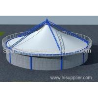 Wholesale High quality membrane structure sludge/biogas shed Admin Edit from china suppliers