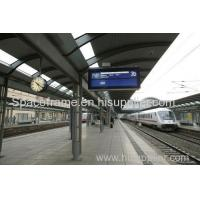 Buy cheap High quality light steel structure train station canopy Admin Edit from wholesalers