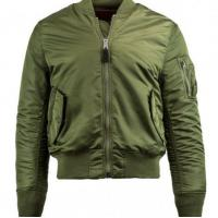 Buy cheap Men Alpha Industries MA-1 Slim Fit Flight Jacket, OD Green from wholesalers