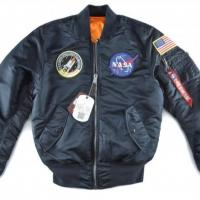 Buy cheap Men Alpha Industries NASA MA-1 Flight Jacket from wholesalers