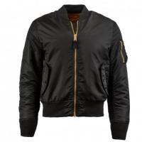 Buy cheap Men Alpha Industries MA-1 Slim Fit Flight Jacket, Black from wholesalers