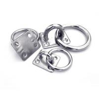 Buy cheap Stainless Steel Eye Plate With Ring from wholesalers