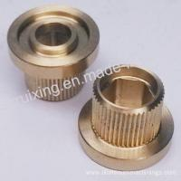Brass CNC Turning Part of Pole End