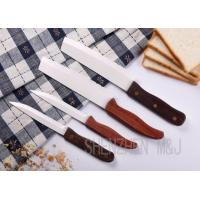 Wholesale White serrated mirror blade, wood handle from china suppliers